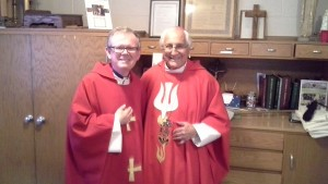Confirmation with Bishop Gumbleton