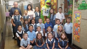 JPII - First day second grade 2016