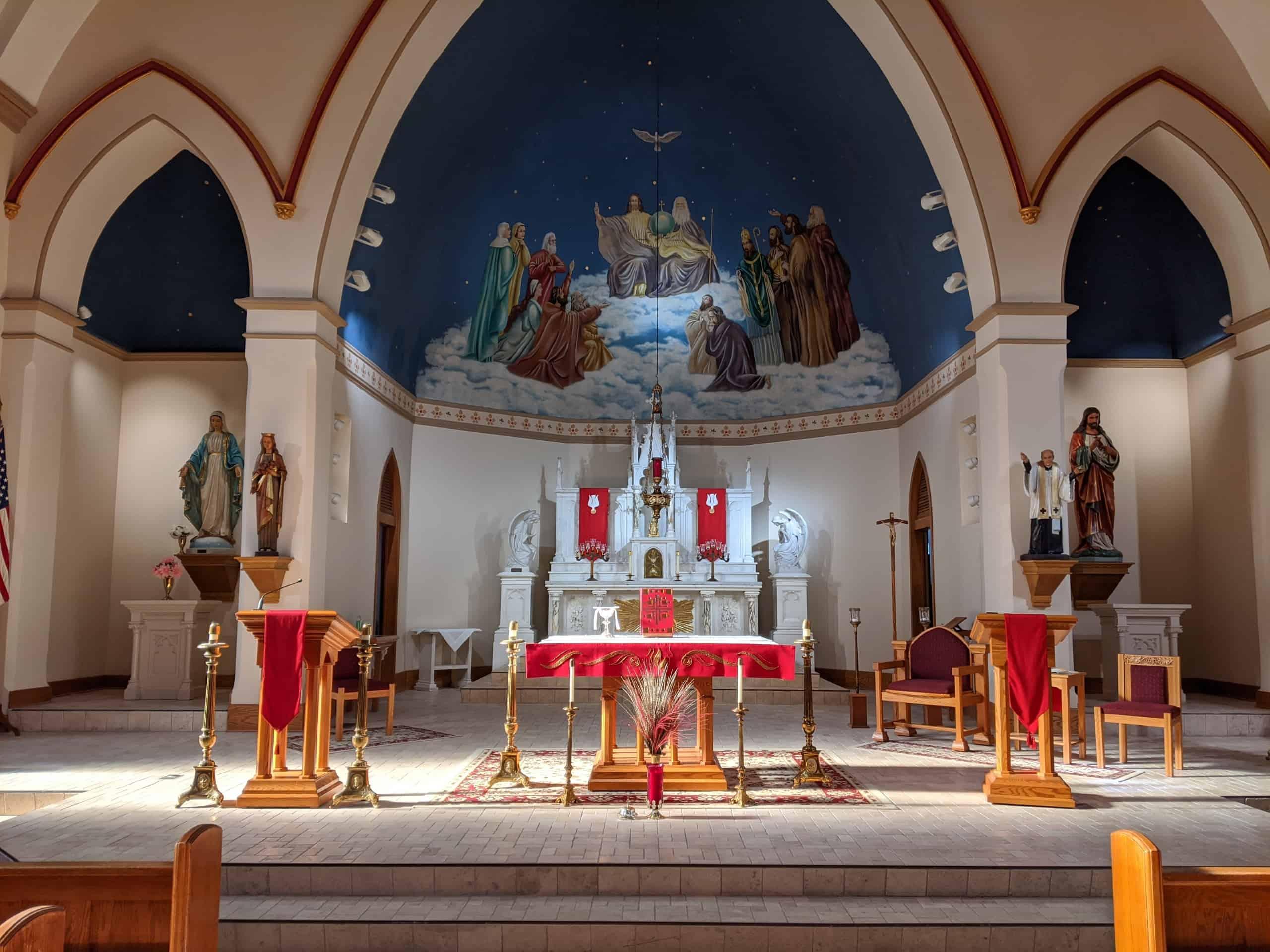 St. Patrick Church Pentecost Sunday