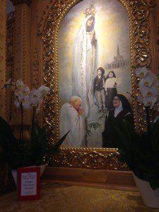 WYD - Pilgrim Our Lady of Fatima Shrine 1