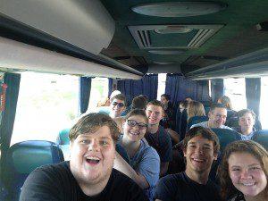WYD - Pilgrim bus ride