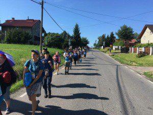 WYD - Pilgrim walk