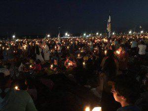 WYD - Vigil candles
