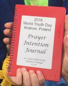 WYD - pre celebration with prayer journal (2)